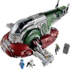 LEGO Set 75060-1 Slave I - building instructions and parts list. Theme: Star Wars Episode 4/5/6; Year: 2015; Parts: 1994; Tags: star wars star wars episode 4/5/6 ultimate collector series