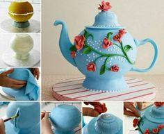 Teapot Cake Tutorial | The WHOot