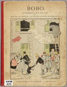 Bobo : geschiedenis van een aap / door Mevr. B.E. van Osselen-van Delden en Marie Hildebrandt [1907]