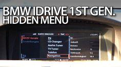 How to enter hidden menu in #BMW #iDrive 1st generation 7-Series #E65 #E66 #cars #GPS #navigation