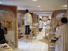 Peinture décorative, trompe l oeil architectural, art mural, décor peint, ornementation, grotesques, chinoiseries