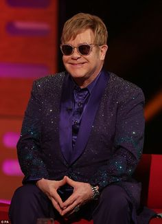 Don't give up! Elton John has hinted that he may soon step down from touring as he told Th...