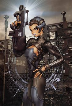 Masamune_Shirow_-_ID3_Page_016_Electric_Airgun_Casing_Box_Cover_1_a.jpg (1270×1850)
