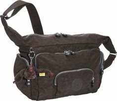 Kipling Satchel - Espresso Functional and stylish - many compartments for all of your daily needs. Great for school or travel, too! Material: Crinkle nylon Shoulder Bags, Day Travel Bags, Quick Ship Gifts, Waist packs, Fabric, Kipling, Long Shoulder Straps, Fabric Handbags, Girl Bags, Handbags, Basic, Top Zip Shoulder Bag