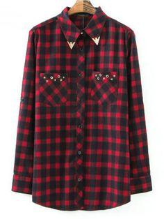 Camisa Feminina Xadrez Casual - Compre Online | DMS Boutique