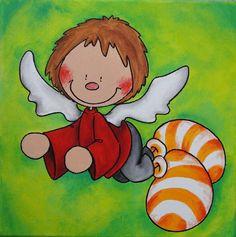 Die 16 besten Bilder von Schutzengel & Glücksbringer für Kinder ...