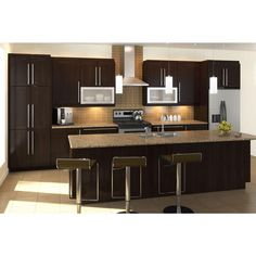 Home Depot kitchen design is an excellent place to look at all the various kitchen designs. Let Home Depot kitchen design team performance for you. Kitchen Ikea, Home Depot Kitchen, Kitchen And Bath, New Kitchen, Home Kitchens, Kitchen Decor, Kitchen Remodeling, Small Kitchens, Apartment Kitchen