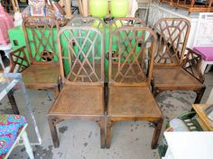 FRETWORK Chairs for the Kitchen :)