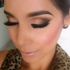 Winged Smokey Eyes. A job well done