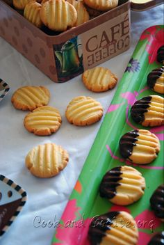 Desserts With Biscuits, No Cook Desserts, Mini Desserts, Galletas Cookies, Cupcake Cookies, Biscuit Cookies, Yummy Cookies, Hokkaido Cake, Biscotti
