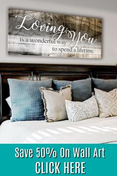 Save 50% on amazing wall art today!
