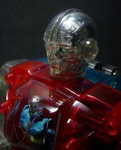 Microman crystal Robotman