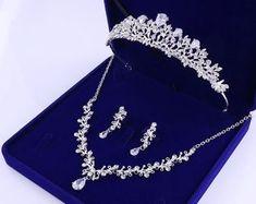 Gold Tiara, Gold Crown, Bridal Crown, Bridal Tiara, Crystal Wedding, Wedding Gold, Bride Headband, Rhinestone Jewelry, Silver Jewelry