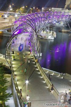 Köprü      Brücke Singapur   Singapore ............................................