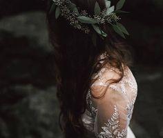 Corona vegetal. #tocados #novia