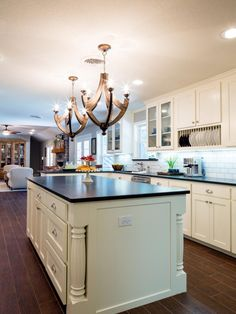 kitchen island images photos fixer co host joanna gaines turned the once bland 5088