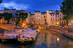 """""""Le Pont des Marchands"""", Narbonne, #Languedoc, South of France www.audetourisme.com"""