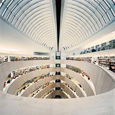Library by Calatrava.
