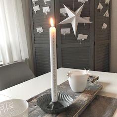 Mit der Adventskerze sind wir schon im Verzug  Ein schönes Wochenende wünsche ich Euch. #advent #adventsdeko #advenskerze #lichterglanz  #itlooksalotlikechristmas #christmasiscoming #livingroom #livingroomdecor #candles #december