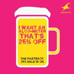 I want an alco-meter that's 25% off. Flat 25% OFF on Bags, Belts, Wallets & Sunglasses!