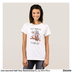Just married 79th Year Anniversary Statement Shirt