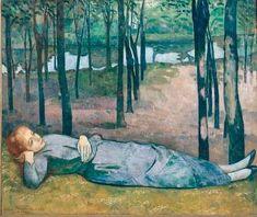 Madeleine dans le Bois d'Amour par Émile Bernard