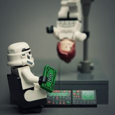 Lego Star Wars Figures In Real Life Situations.