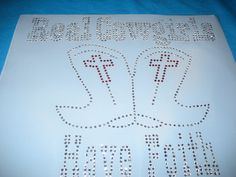 Rhinestone Heat Transfer that says Real Cowgirls by cthorses66, $9.99
