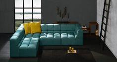 Muffin Köşe Koltuk, Loren Turkuaz #interior #furniture #decoration