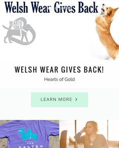 Don't forget a portion of ALL SALES during January and February will be donated to Hearts Of Gold a service dog training program from Morgantown WV as a part of our new Welsh Wear Gives Back Program! Any purchase big or small will allow us to help this great non profit! #corgipuppy #corgination #welshwear #welshweargivesback #heartsofgold #ETLTIL