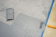 Natierame betónovú podlahu