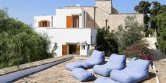 Masseria Ferrorosso is a 5 bed villa in Puglia - with one of the bedrooms as an annexe, ideal for extra peace and quiet. | Search BFY14851 or click here: http://www.bookingsforyou.com/holiday-rentals-italy/puglia/masseria-ferrorosso