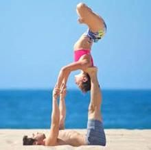 59 best 2 person yoga poses images on pinterest in 2018