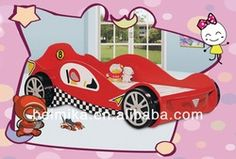 Car Bed/car Beds For Children/hot Sale Kids Mclaren Racing Car Bed For Boy…