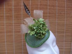 Tocado plato verde hoja Tableware, Blade, Fascinators, Dishes, Green, Dinnerware, Serveware