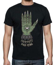 Ego King Clothing worship. Illustrated by Brotherhood member tattoo-artist Vega. 2013.