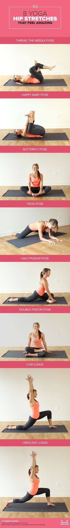 8 Yoga Hip Stretches That Feel Amazing.
