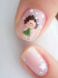 Cartoon Nail Designs, Nail Art Designs, Purple And Pink Nails, Nail Design Video, Manicure And Pedicure, Winter Nails, Nails Inspiration, Pretty In Pink, Simple