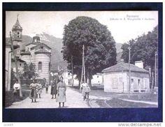 Paesana - Santa Margherita - Si possono notare le rotaie e la stazione piccola