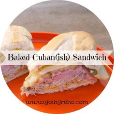 Baked Cuban Sandwiches--you won't believe how good these are!