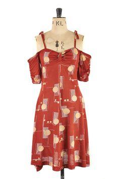 Exposed Shoulder by Lee Bender's Bus Stop c.1970 | Margot & Hesse | Timeless vintage dresses at www.margotandhesse.co.uk