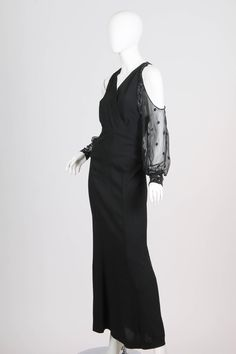 1930s Gown with Beading