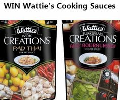 #Win New #Wattie's Creations #Cooking #Sauces! **Competition closes Jan 30th** #contest #sweepstakes #giveaway #recipes #healthy #delicious