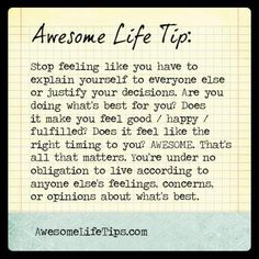 Awesome Life Tips