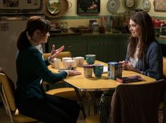 !!! from Gilmore Girls Revival Photos: Return to Stars Hollow  Rory (Alexis Bledel) and Lorelai (Lauren Graham) forever.