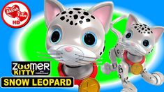 "ZOOMER KITTY SURPRISE EGG DANCING ROBOT TALKING ROBOT KIDS ROBOT FUNNY CATS https://youtu.be/WA19aukJwl4 -- Akirah is featuring the Zoomer Kitty Snow Leopard in this surprise egg kids video only available at Target stores. The Zoomer Kitty is more than just a silly talking robot toy. She is definitely High Tech and an extremely fun dancing robot to play with.  Our Zoomer Kitty review: Zoomer Kitty is equipped with ""touch sensors"" on several places on her body. Zoomer Kitty also has ""LED…"