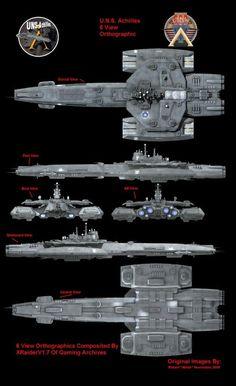 F-305 Achilles Stargate Ships, Stargate Atlantis, Spaceship Art, Spaceship Design, Ship Map, Stargate Universe, Starship Concept, Sci Fi Spaceships, Space Engineers