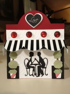 Anniversary card - Cricut Sweetheart cartridge