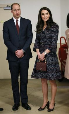 Prince William and Duchess Catherine on a official visit to France. March 18, 2017