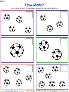 FREE worksheets, create your own worksheets, games. Number Activities, Preschool Math, Math Worksheets, Pre School, Teamwork, Mathematics, Projects To Try, Classroom, Learning